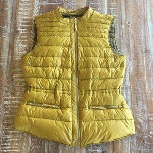 Zara Basic packable lightweight down filled vest